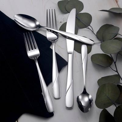 42pc Stainless Steel Abel Silverware Set - Studio Cuisine