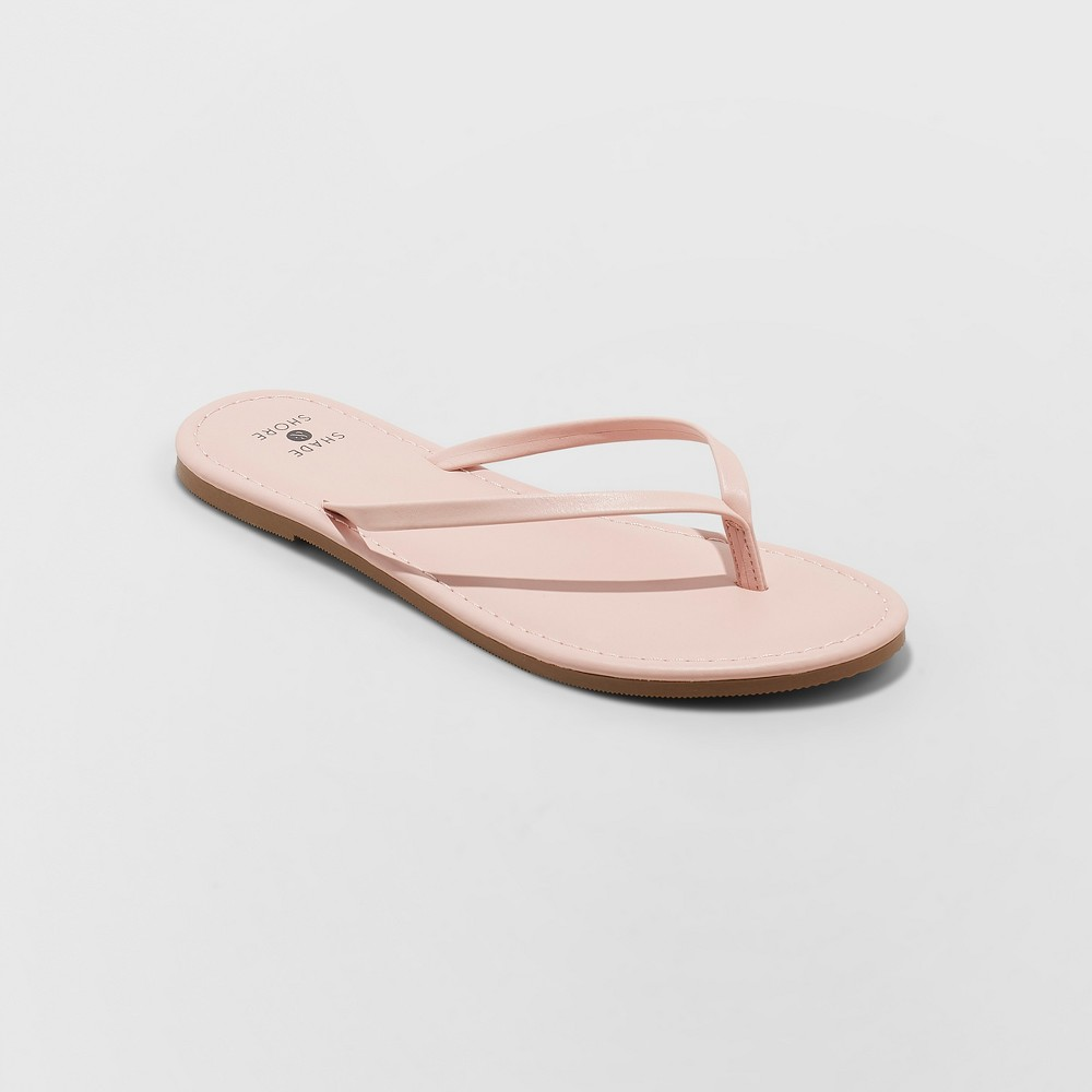Women's Ava Skinny Strap Flip Flop - Shade & Shore Blush 5