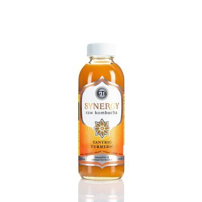 GT's Synergy Tantric Turmeric Organic Kombucha - 16 fl oz Bottle