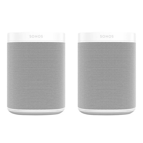Sonos One Gen 2 Two Room Wireless Speaker Set with Voice Control Built-In - image 1 of 4