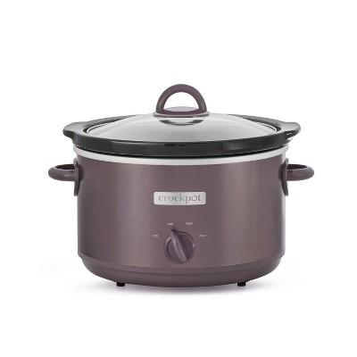 Crock-Pot 4.5qt Manual Slow Cooker - Café Mocha