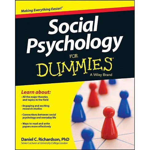 Social Psychology for Dummies - (For Dummies) by  Daniel Richardson (Paperback) - image 1 of 1
