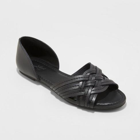 71de1e00ca6 Women s Vail Wide Width Woven Slide Sandals - Universal Thread ...
