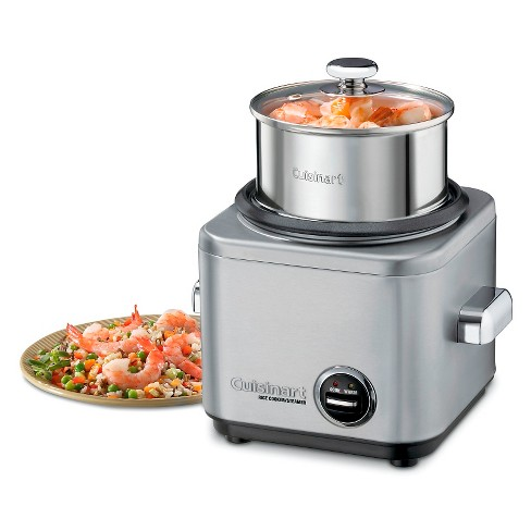 Cuisinart® 4 Cup Electric Rice Cooker - Stainless Steel CRC-400 - image 1 of 2