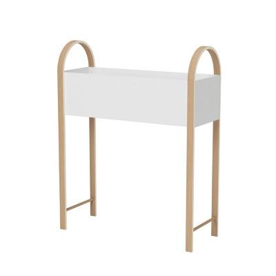 Bellwood Elevated Garden Bed & Storage Box White/Natural - Umbra