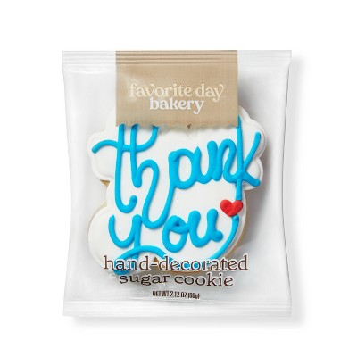 Thank You Sugar Cookie - 1ct - Favorite Day™