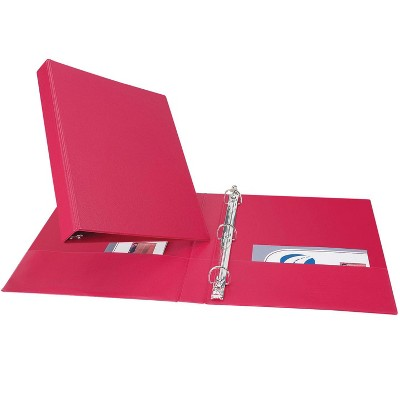 Avery Durable Binder with Slant Ring, 1 Inch, Red