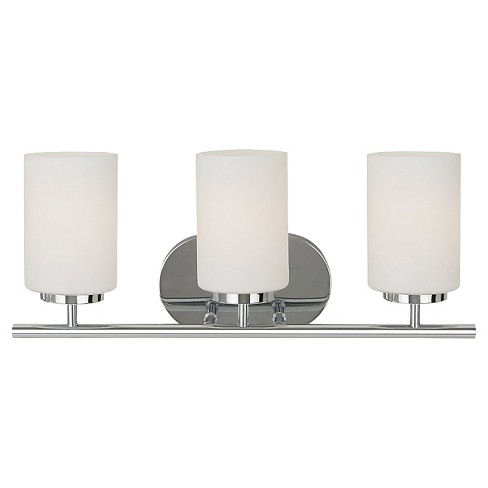 Sea Gull Lighting Three Light Wall/Bath/Vanity - Chrome - image 1 of 2