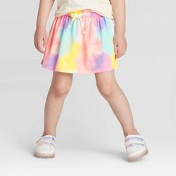 Toddler Girls' Tie-Dye Skort - Cat & Jack™