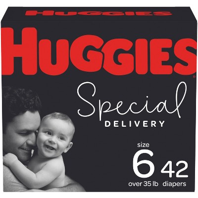 Huggies Special Delivery Hypoallergenic Diapers Super Pack - Size 6 (36ct)
