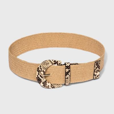 Women's Snake Stretch Belt - A New Day™