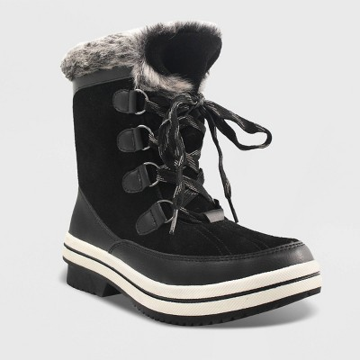 Women's Ellysia Microsuede Short Functional Winter Boots   Universal Thread™ by Universal Thread
