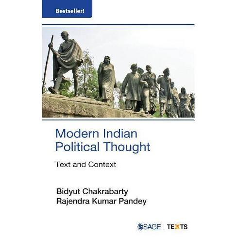 Modern Indian Political Thought - (Social Thinkers) by  Bidyut Chakrabarty & Rajendra Kumar Pandey - image 1 of 1