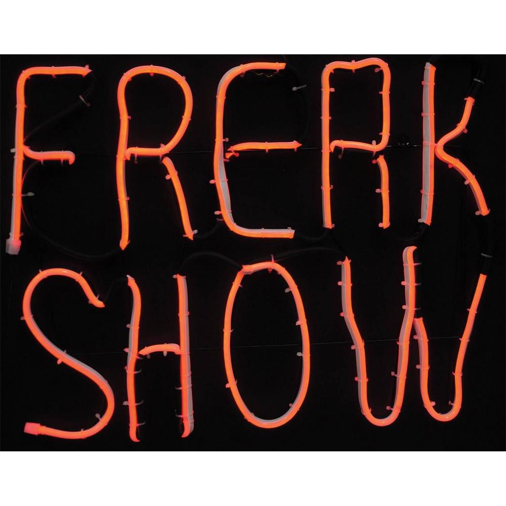 "Image of ""17 """"Halloween Light Glow Freak Show"""