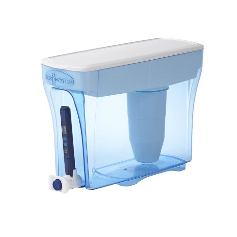 ZeroWater 30 Cup Ready-Pour Water Filtering Dispenser with Free Water Quality Meter - image 1 of 4