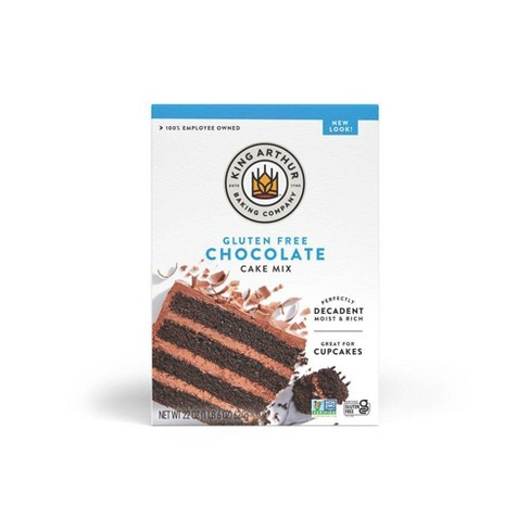 King Arthur Gluten Free Chocolate Cake Mix - 22oz - image 1 of 4