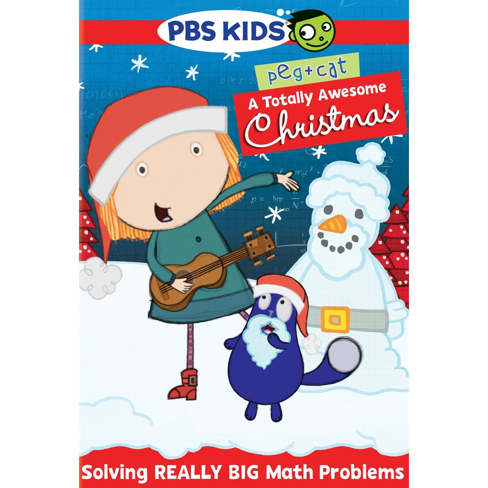 Peg Cat A Totally Awesome Christmas Dvd 2015