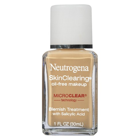 Neutrogena Skin Clearing Liquid Makeup - Light Shades - 1 fl oz - image 1 of 2