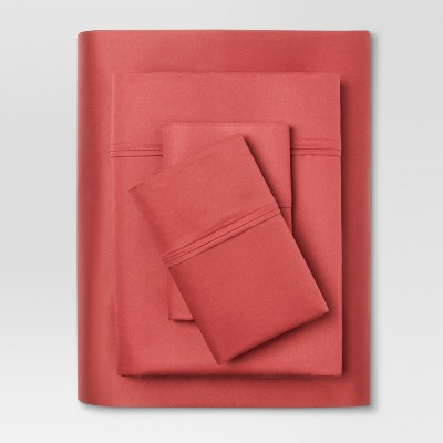 Performance Sheet Set (Twin)Coral 400 Thread Count - Threshold™