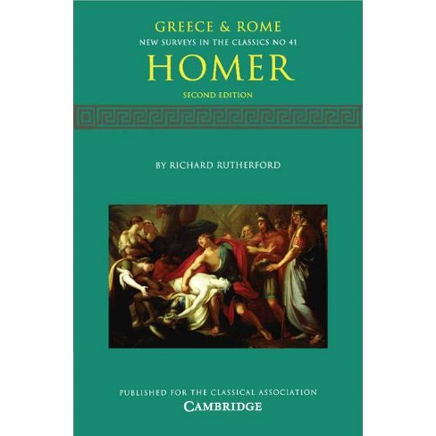 Homer - (New Surveys in the Classics) 2 Edition by  Richard Rutherford (Paperback) - image 1 of 1