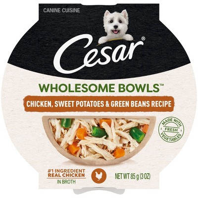 Cesar Wholesome Bowls Wet Dog Food - 3.0oz