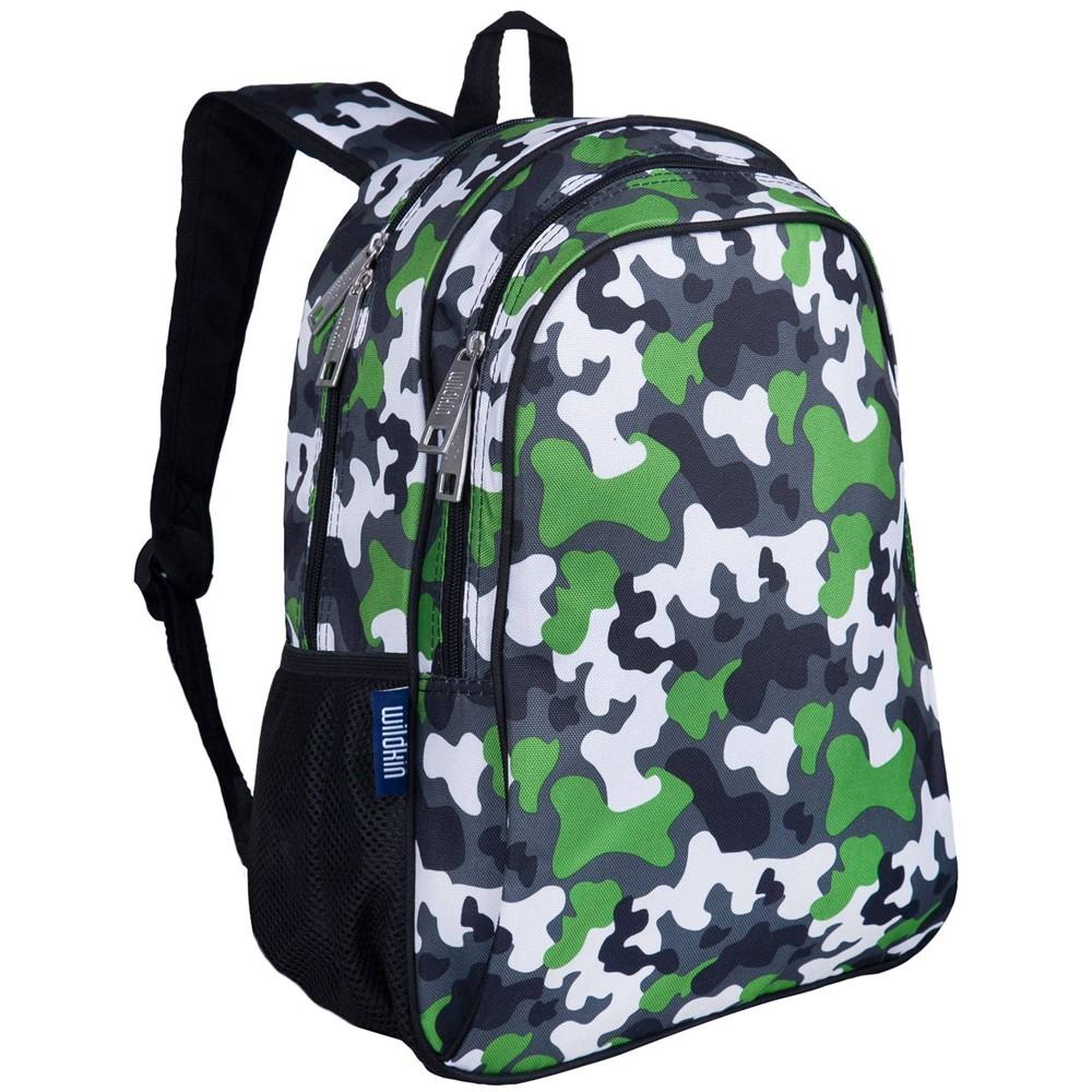 Wildkin 15 34 Kids 39 Backpack Camo Green