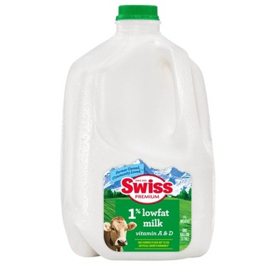 Swiss Premium 1% Lowfat Milk - 1gal