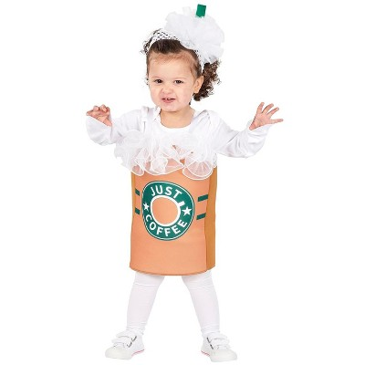 """Orion Costumes """"Just Coffee"""" Toddler Costume with Tunic & Headpiece 