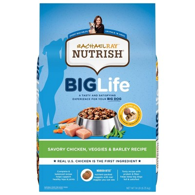 Rachael Ray Nutrish Big Life Savory Chicken Large Breed Adult Dry Dog Food