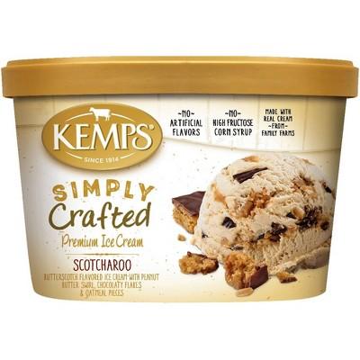 Kemps Simply Crafted Scotcharoo Ice Cream - 48oz