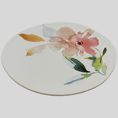 Split P First Blush Plate Set - White