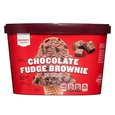 Chocolate Fudge Brownie Ice Cream - 1.5qt - Market Pantry™