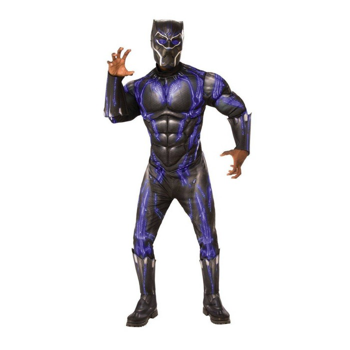Adult Avengers Black Panther Purple Battle Deluxe Halloween Costume - image 1 of 1