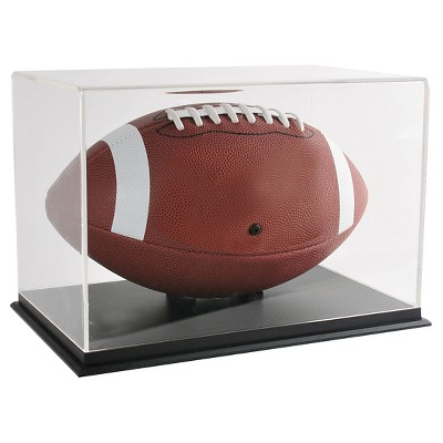 "12"" Shadow Box Rugby Display Case - SNAP"