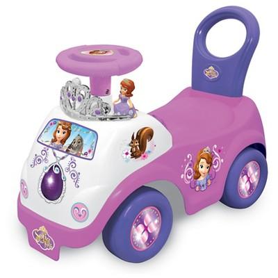 Kiddleland Disney Sofia the First Princess Sofia Drive Along Ride-On