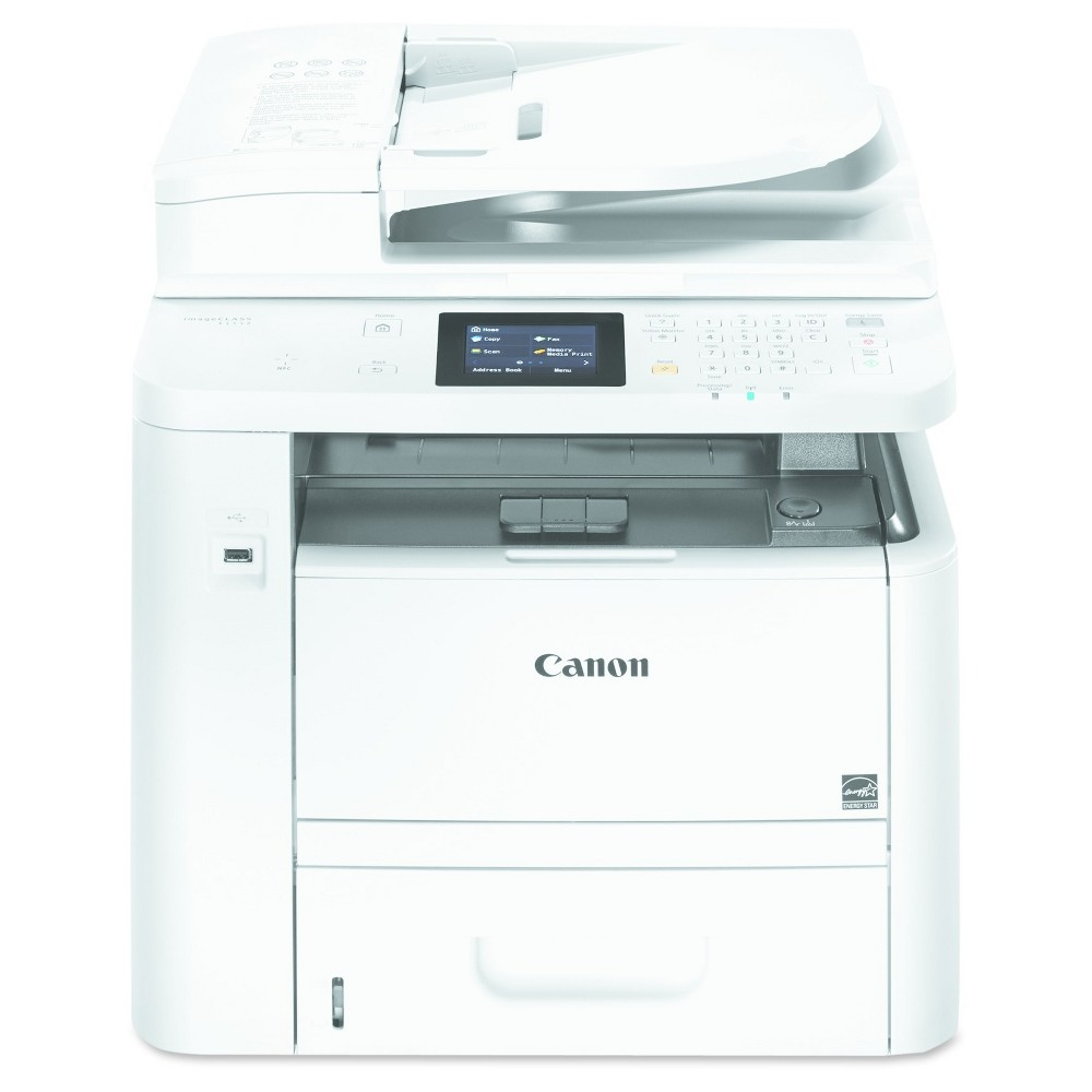 Canon imageClass D1550 4-in-1 Multifunction Laser Copier, Copy/Fax/Print/Scan (0291C009) All-in-one, wireless, duplex, AirPrint, laser copier delivers lightning fast laser output. Features Nfc capability, security and mobile solutions for printing on the go. Legal size glass and paper handling up to 1,050 sheets. Machine Functions: Copy; Fax; Print; Scan; Printer Type: Laser; Maximum Print Speed (Black): 35 ppm; Network Ready: Yes.