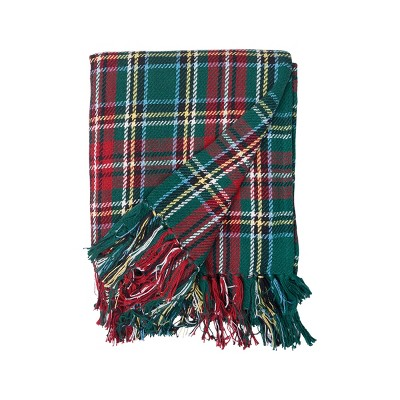 C&F Home Weston Plaid Throw