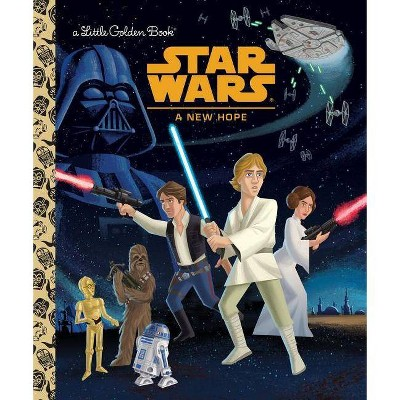 Star Wars: A New Hope - (Little Golden Book) by  Geof Smith (Hardcover)