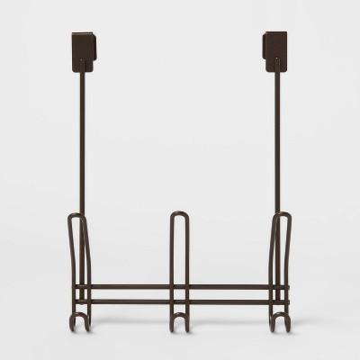 3 Over-The-Door Hook Bronze - Threshold™