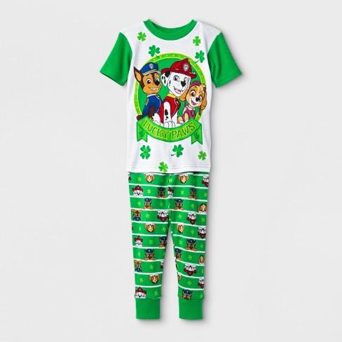 18004bae01 Toddler Boys  PAW Patrol 2pc Pajama Set - Green   Target