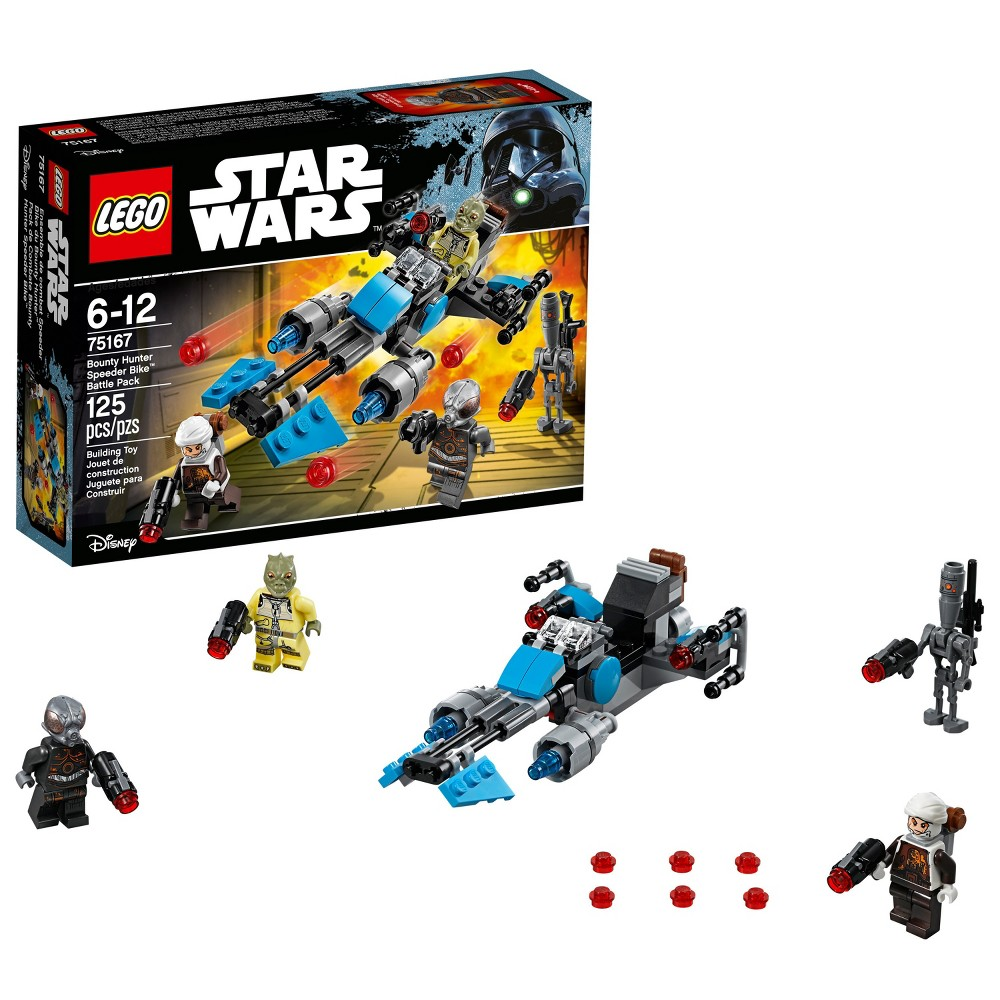 Lego Star Wars Bounty Hunter Speeder Bike Battle Pack 75167