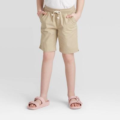 Knit Waist Twill Bermuda Shorts - Cat & Jack™