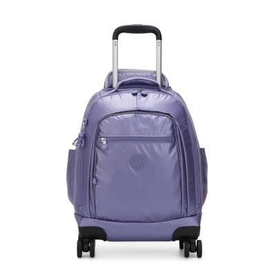 "Kipling Zea Metallic 15"" Laptop Rolling Backpack"