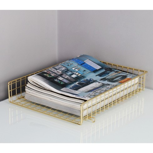 Letter Tray, Gold   Threshold™ : Target