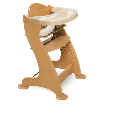 Badger Basket Embassy Wood High Chair- Natural