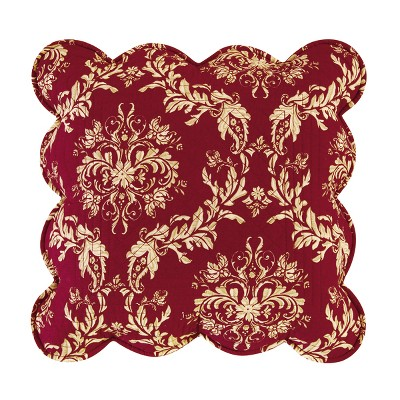 """C&F Home 14"""" x 14"""" Windsor Berry Quilted Pillow"""