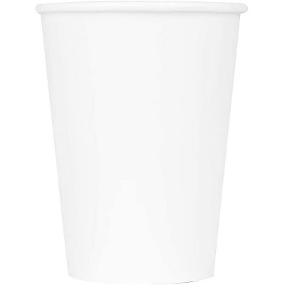 Karat C-K512W 12 Ounce Poly Lined Sturdy Sweat Resistant High Quality Recyclable Paper Hot Cups for Coffee, Tea, and Hot Chocolate, White (1000 Pack)