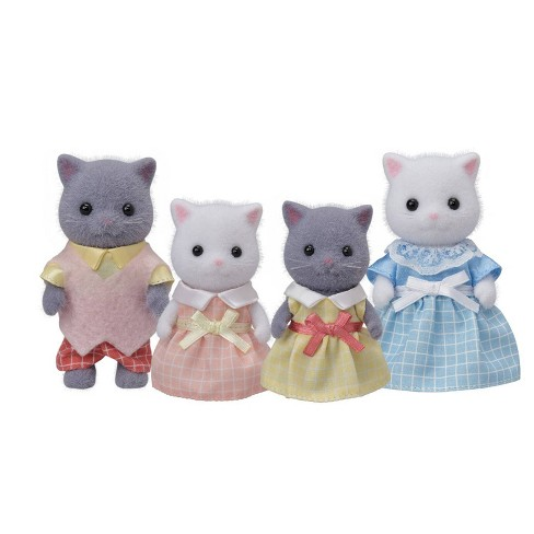 Calico Critters Persian Cat Family - image 1 of 2