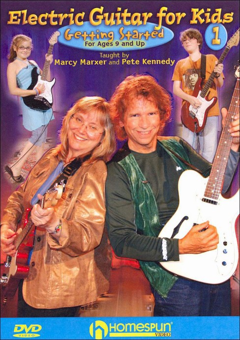 Electric guitar for kids vol 1 (DVD) - image 1 of 1