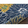 Nourison Passion PSN17 Blue Indoor Area Rug - image 3 of 4